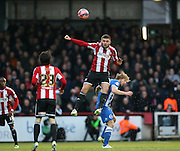 Alan Judge during the The FA Cup match between Brentford and Brighton and Hove Albion at Griffin Park, London, England on 3 January 2015.