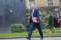 © Licensed to London News Pictures. 05/02/2019, London, UK. Stephen Barclay- Brexit Secretary arrives in Downing Street for the weekly Cabinet meeting. Photo credit: Dinendra Haria/LNP