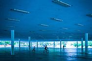 Meus amores de bicicleta. Marquise do Ibirapuera. São Paulo, Brazil. ©CiroCoelho.com. #saopaulo #brasil #streetphotography, #travel #travelphotography #architecture #city #architecturephotography #theotherarchitecture