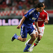 NLD/Amsterdam/20080808 - LG Tournament 2008 Amsterdam, Ajax v Arsenal, Luis Suarez