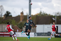 BOREHAMWOOD, ENGLAND - Saturday, September 28, 2019: Liverpool's Ki-Jana Hoever during the Under-23 FA Premier League 2 Division 1 match between Arsenal FC and Liverpool FC at Meadow Park. (Pic by Kunjan Malde/Propaganda)