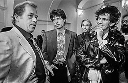 Prague Castle, 18 August 1990<br />