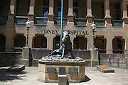 Australia, Sydney Hospital bronze boar
