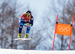 13.02.2018, Jeongseon Alpine Centre, Pyeongchang, KOR, PyeongChang 2018, Ski Alpin, Herren, Kombination, im Bild Marko Vukicevic (SRB) // Marko Vukicevic of Serbia during the Mens Ski Men's Alpine Combined of the Pyeongchang 2018 Winter Olympic Games at the Jeongseon Alpine Centre in Pyeongchang, South Korea on 2018/02/13. EXPA Pictures © 2018, PhotoCredit: EXPA/ Johann Groder