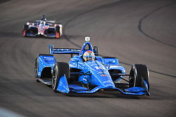 April 6, 2018 - Phoenix, AZ, U.S. - PHOENIX, AZ - APRIL 07: Driver Ed Jones in the Verizon IndyCar Series Desert Diamond West Valley Casino Phoenix Grand Prix on April 7, 2018, at ISM Raceway in Phoenix, AZ. (Photo by Grant Exline/Icon Sportswire) (Credit Image: © Grant Exline/Icon SMI via ZUMA Press)