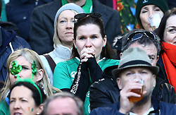 February 24, 2019 - Rome, Italy - Italy v Ireland - Rugby Guinness Six Nations.Ireland supporter at Olimpico Stadium in Rome, Italy on February 24, 2019. (Credit Image: © Matteo Ciambelli/NurPhoto via ZUMA Press)