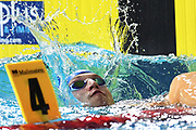Andreii Govorov (UKR) competes and wins the Gold medal on Men's 50 m Butterfly during the Swimming European Championships Glasgow 2018, at Tollcross International Swimming Centre, in Glasgow, Great Britain, Day 6, on August 7, 2018 - Photo Stephane Kempinaire / KMSP / ProSportsImages / DPPI