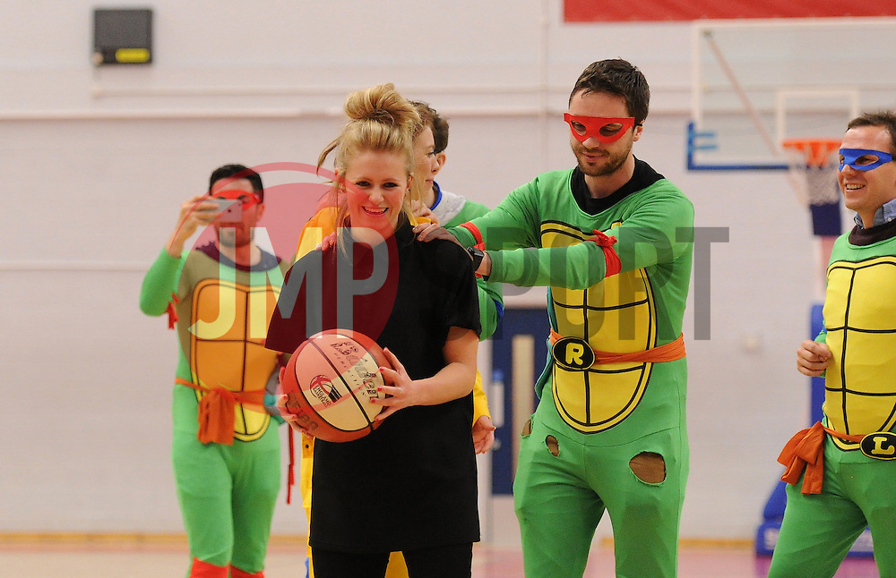 Bristol Flyers hen party  - Mandatory byline: Dougie Allward/JMP - 06/02/2016 - FOOTBALL - SGS Wise Campus - Bristol, England - Bristol Flyers v Newcastle Eagles - British Basketball League