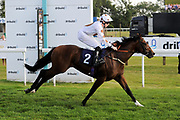 Halfacrown ridden by Callum Shepherd and trained by Jamie Osborne in the Sds Maiden Auction Stakes race.  - Ryan Hiscott/JMP - 02/08/2019 - PR - Bath Racecourse - Bath, England - Race Meeting at Bath Racecourse