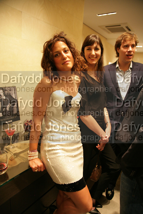 TATINA DE MARINIS PAPACHRISTIDIS, VANESSA MARTINELLI, HUD MORGAN . De Grisogono & Londino Car Rally  party. <br />