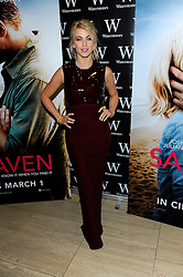 JULIANNE HOUGH during An Evening with Nicholas Sparks, Waterstones, London, UK, February 20, 2013.  Photo by Chris Joseph / i-Images.