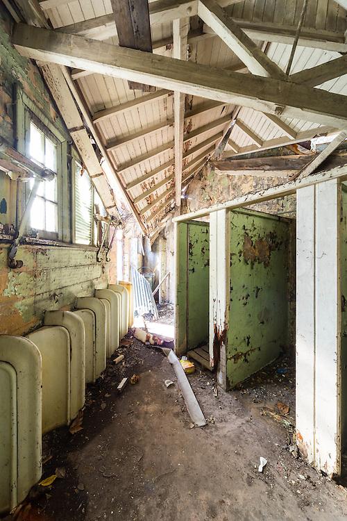 former dawes point public toilets.  sydney, australia