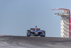 February 12, 2019 - Austin, Texas, U.S. - SANTINO FERRUCCI (19) of the United States goes through the turns during practice for the IndyCar Spring Test at Circuit Of The Americas in Austin, Texas. (Credit Image: © Walter G Arce Sr Asp Inc/ASP)