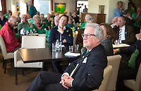 ALPHEN AAN DEN RIJN - Golfclub Zeegersloot heeft het GEO certificaat in ontvangst genomen. Zeegersloot voorzitter Cees van Beurten.  COPYRIGHT KOEN SUYK