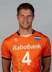 14-05-2018 NED: Team shoot Dutch volleyball team men, Arnhem<br /> Thijs ter Horst #4 of Netherlands