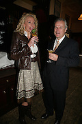 Gail Lawson and Frank Spann, PJ's Annual Polo Party . Annual Pre-Polo party that celebrates the start of the 2007 Polo season.  PJ's Bar & Grill, 52 Fulham Road, London, SW3. 14 May 2007. <br />