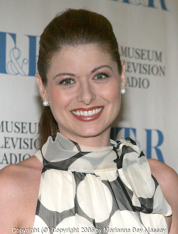 Oct 06, 2006; Beverly Hills, CA, USA; Actress DEBRA MESSING hosts the 'I Love Lucy: The Movie' at the Museum of Television and Radio. Mandatory Credit: Photo by Marianna Day Massey/ZUMA Press. (©) Copyright 2006 by Marianna Day Massey