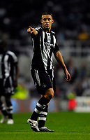 Photo: Jed Wee/Sportsbeat Images.<br /> Newcastle United v Barnsley. Carling Cup. 29/08/2007.<br /> <br /> Newcastle's Alan Smith.