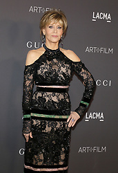 Jane Fonda at the 2017 LACMA Art + Film Gala held at the LACMA in Los Angeles, USA on November 4, 2017.