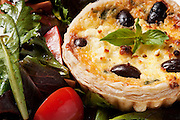 Francesca's Green Bean and Olive Quiche // www.florastable.com