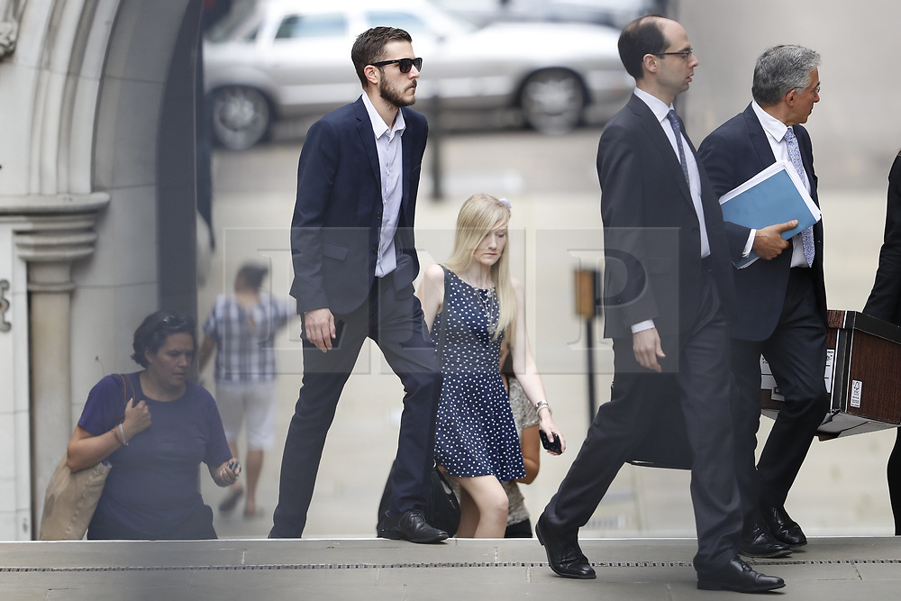 © Licensed to London News Pictures. 10/07/2017. London, UK. Connie Yates and <br />