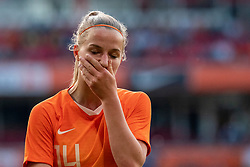 01-06-2019 NED: Netherlands - Australia, Eindhoven<br /> <br /> Friendly match in Philips stadion Eindhoven. Netherlands win 3-0 / Jackie Groenen #14 of The Netherlands