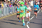 Colin (1518) supporting Macmillan Cancer during The Great South Run in Southsea, Portsmouth, United Kingdom on 23 October 2016. Photo by Jon Bromley.