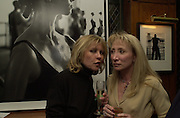 Kathy Dimato and Sandy McGee. Book launch party for 'Boxing Ballerinas' by Tony McGee. The Ivy. 26 January 2001.© Copyright Photograph by Dafydd Jones 66 Stockwell Park Rd. London SW9 0DA Tel 020 7733 0108 www.dafjones.com