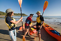 Seawater kayaking is a popular activity for visitors to far north Queensland, Australia.