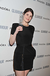 GEMMA ARTERTON at the Glamour Women of The Year Awards 2011 held in Berkeley Square, London W1 on 7th June 2011.