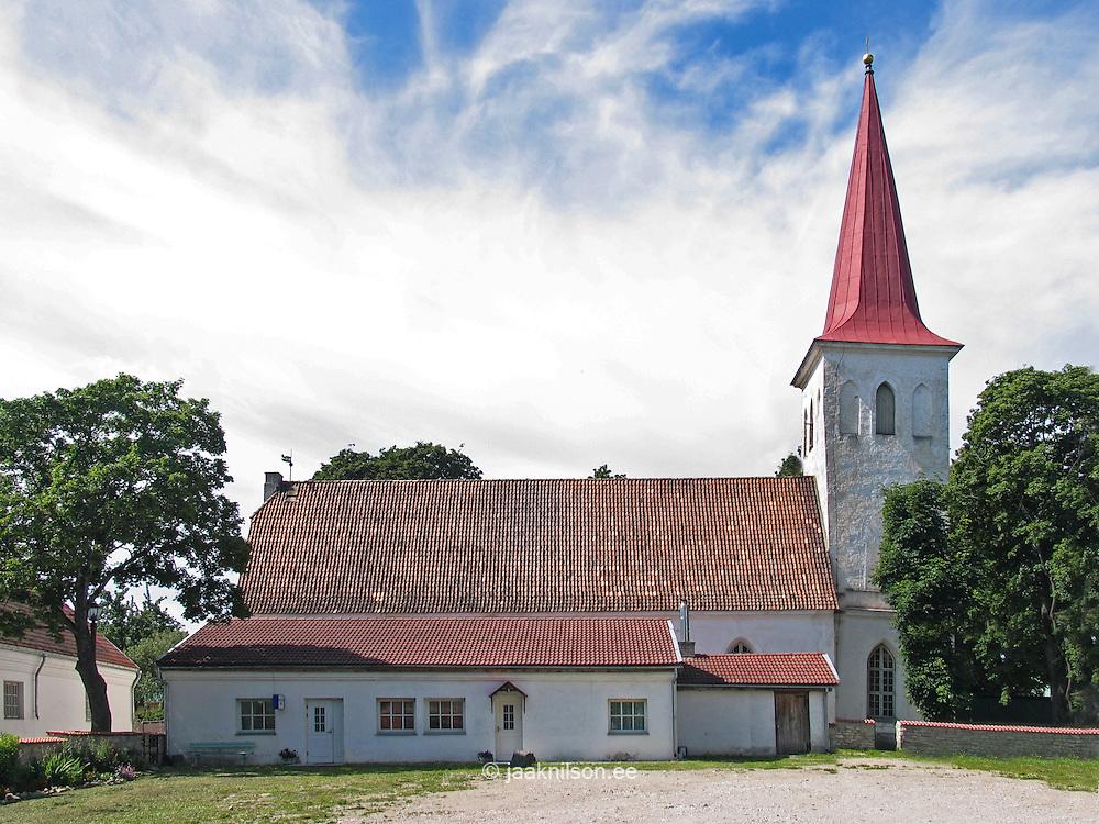 St John`s Church, Haapsalu, Estonia, Europe