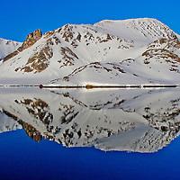 Alberto Carrera, Arctic Lands, Holmiabukta Bay, Raudefjord, Albert I Land, Arctic, Spitsbergen, Svalbard, Norway, Europe