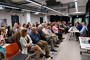 The Justice Gap and Byline Media  launch Proof magazine at the NUJ head office, central London. 9th July 2019. (photo by Andy Aitchison)