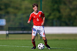 NEWPORT, WALES - Wednesday, July 25, 2018: Ben Hammond during the Welsh Football Trust Cymru Cup 2018 at Dragon Park. (Pic by Paul Greenwood/Propaganda)