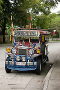 Jeepney at Nayong Filipino in Clark Air Force Base..photo by Jason Doiy.6-10-08