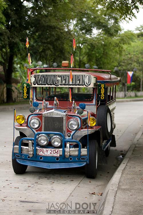Jeepney at Nayong Filipino in Clark Air Force Base..photo by Jason Doiy.6-10-08