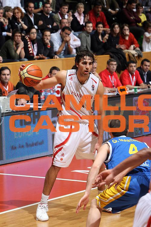 DESCRIZIONE : Girona EuroCup Final Four 2007 Semifinale Akasvayu Girona Estudiantes Madrid<br /> GIOCATORE : Sada<br /> SQUADRA : Akasvayu Girona<br /> EVENTO : EuroCup Final Four 2007 <br /> GARA : Akasvayu Girona Estudiantes Madrid<br /> DATA : 13/04/2007 <br /> CATEGORIA : Palleggio<br /> SPORT : Pallacanestro <br /> AUTORE : Agenzia Ciamillo-Castoria/E.Castoria