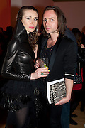 MALGOSIA STEPNIK; KRISTIAN AADNEVIK, TOD&Otilde;S Art Plus Drama Party 2011. Whitechapel Gallery&Otilde;s annual fundraising party in partnership with TOD&Otilde;S and supported by Harper&Otilde;s Bazaar. Whitechapel Gallery. London. 24 March 2011.  -DO NOT ARCHIVE-&copy; Copyright Photograph by Dafydd Jones. 248 Clapham Rd. London SW9 0PZ. Tel 0207 820 0771. www.dafjones.com.<br /> MALGOSIA STEPNIK; KRISTIAN AADNEVIK, TOD&rsquo;S Art Plus Drama Party 2011. Whitechapel Gallery&rsquo;s annual fundraising party in partnership with TOD&rsquo;S and supported by Harper&rsquo;s Bazaar. Whitechapel Gallery. London. 24 March 2011.  -DO NOT ARCHIVE-&copy; Copyright Photograph by Dafydd Jones. 248 Clapham Rd. London SW9 0PZ. Tel 0207 820 0771. www.dafjones.com.