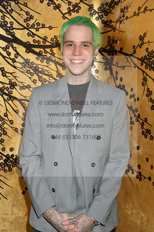 RICKY HIL at a party to celebrate the launch of the Dee Ocleppo 2015 Pre Fall Collection benefiting the Walkabout Foundation held at Loulou's, 5 Hertford Street, London on 16th June 2015.