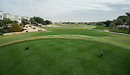 4th tee at The Address Montgomerie Golf Club, Dubai, United Arab Emirates.  27/01/2016. Picture: Golffile | David Lloyd<br /> <br /> All photos usage must carry mandatory copyright credit (© Golffile | David Lloyd)
