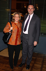 MR & MRS WILLIAM CASH she was Ilaria Bulgari at a party to celebrate the publication of 'E is for Eating' by Tom Parker Bowles held at Kensington Place, 201 Kensington Church Street, London W8 on 3rd November 2004.<br />