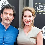 NLD/Amsterdam/20150604 - Premiere In de Ban van Broadway, Hanne Arendzen en Ray Elderman