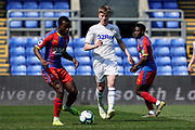 Jack Clarke of Leeds United U23 during the U23 Professional Development League match between U23 Crystal Palace and Leeds United at Selhurst Park, London, England on 15 April 2019.