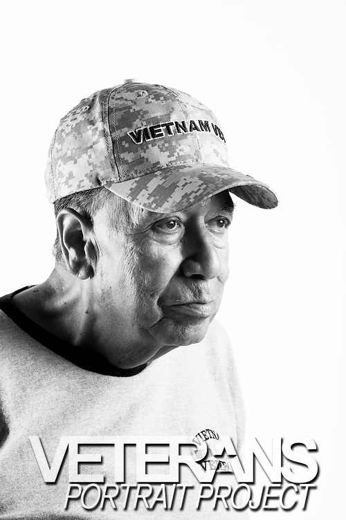 Guadalupe Silva<br /> Army<br /> E-5<br /> Radio Operator<br /> 1966 - 1968<br /> Vietnam<br /> <br /> <br /> Veterans Portrait Project<br /> Colorado Springs, CO San Antonio, Texas