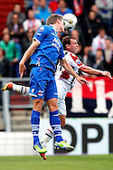 Onderwerp/Subject: Willem II - AZ Alkmaar - Eredivisie<br /> Reklame:  <br /> Club/Team/Country: <br /> Seizoen/Season: 2012/2013<br /> FOTO/PHOTO: Nicky HOFS ( Nick HOFS ) (R) of Willem II in duel with Viktor ELM (L) of AZ Alkmaar. (Photo by PICS UNITED)<br /> <br /> Trefwoorden/Keywords: <br /> #04 $94 ±1355244121349<br /> Photo- & Copyrights © PICS UNITED <br /> P.O. Box 7164 - 5605 BE  EINDHOVEN (THE NETHERLANDS) <br /> Phone +31 (0)40 296 28 00 <br /> Fax +31 (0) 40 248 47 43 <br /> http://www.pics-united.com <br /> e-mail : sales@pics-united.com (If you would like to raise any issues regarding any aspects of products / service of PICS UNITED) or <br /> e-mail : sales@pics-united.com   <br /> <br /> ATTENTIE: <br /> Publicatie ook bij aanbieding door derden is slechts toegestaan na verkregen toestemming van Pics United. <br /> VOLLEDIGE NAAMSVERMELDING IS VERPLICHT! (© PICS UNITED/Naam Fotograaf, zie veld 4 van de bestandsinfo 'credits') <br /> ATTENTION:  <br /> © Pics United. Reproduction/publication of this photo by any parties is only permitted after authorisation is sought and obtained from  PICS UNITED- THE NETHERLANDS