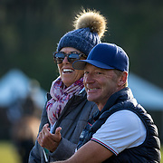 US Eventing Team chef d'Equipe, Erik Duvander at the Red Hills International Horse Trials in Tallahassee, Florida.