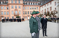 Bad Berleburg , 21-03-2017 <br /> <br /> Funeral of Prince Richard zu Sayn-Wittgenstein-Berleburg Leaving Berleburg Castle where Prince Richard zu Sayn-Wittgenstein-Berleburg passed away.<br /> <br /> PUBLICATION ONLY IN FRANCE<br /> <br /> <br /> COPYRIGHT: ROYALPORTRAITS EUROPE/ BERNARD RUEBSAMEN