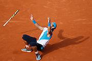 Roland Garros. Paris, France. June 10th 2007..Rafael NADAL wins the men's final against Roger FEDERER.