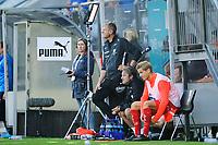 Fotball , Eliteserien<br /> 29.07.2020 , 20200729<br /> Strømsgodset - Brann<br /> Branns trener Lars Arne Nilsen på sidelinja like før slutt <br /> Foto: Sjur Stølen / Digitalsport