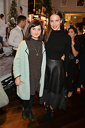 Left to right, RUBY BENTALL and HEIDA REED at the launch of the Space NK Global Flagship store at 285-287 Regent Street, London on 10th November 2016.